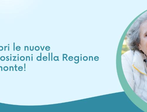 Nuove disposizioni della Regione Piemonte per entrare alla Casa del Sorriso